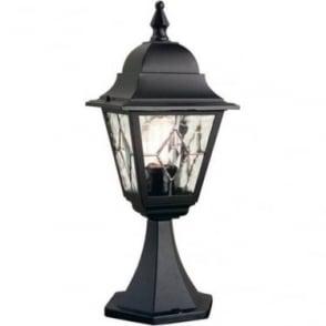 Norfolk Pedestal Lantern - Black
