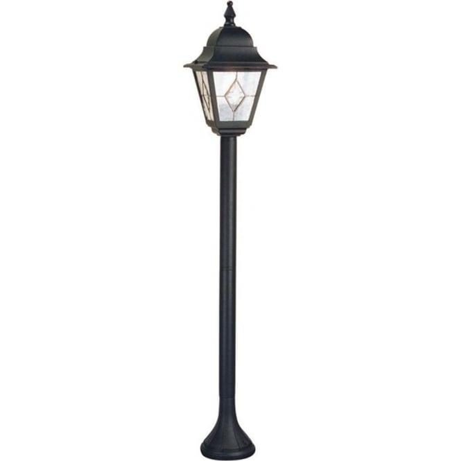 Elstead Lighting Norfolk Pillar Lantern - Black