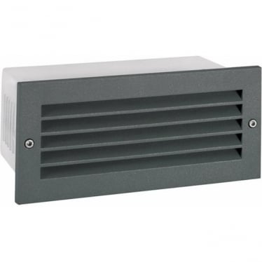 Grimstad LED Louvered Graphite Art 1543