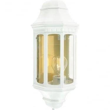 Malaga Half Lantern White M8 art.170