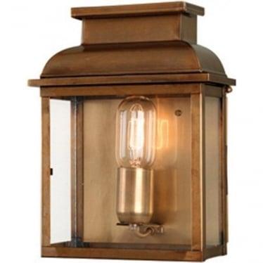 Old Bailey Wall Lantern - Brass