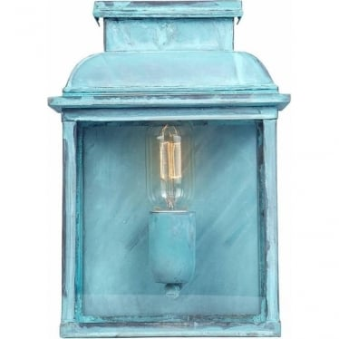 Old Bailey Wall Lantern - Verdi