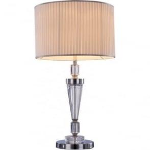 Ophelia Single Table Lamp Chrome