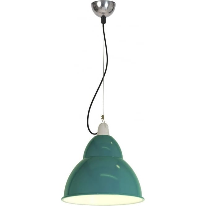 Original BTC Lighting BB1 pendant light - aqua marine