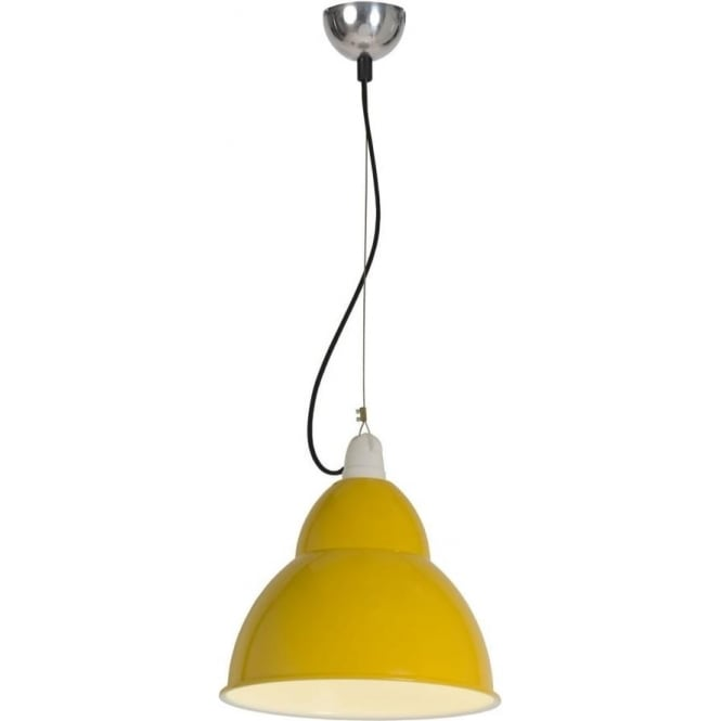 Original BTC Lighting BB1 pendant light - Yellow