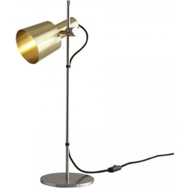 CHESTER TABLE LIGHT - satin brass