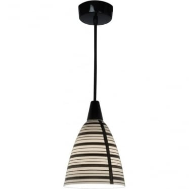 Circle line pendant light