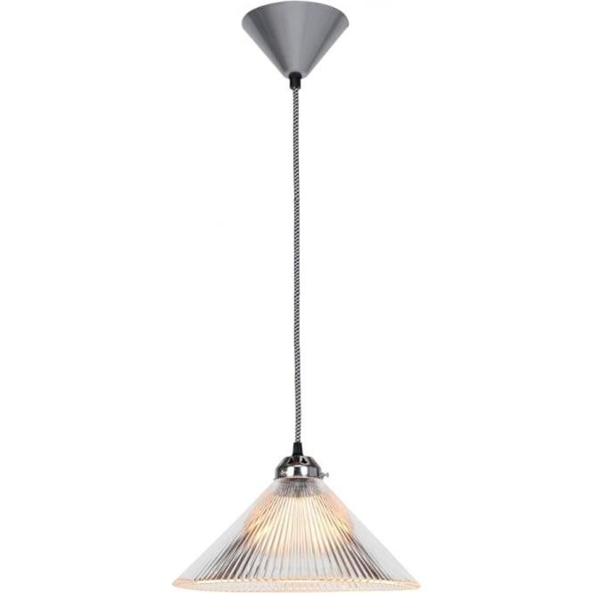 Original BTC Lighting Coolie prismatic pendant light