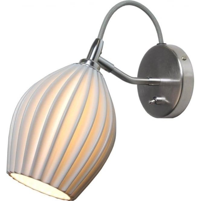 Original BTC Lighting Fin wall light - Natural