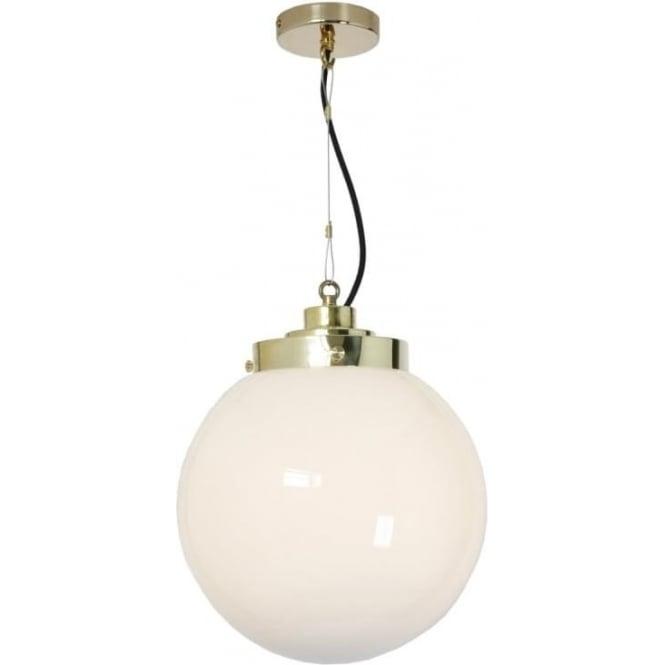 Original BTC Lighting Globe Pendant Light - Medium - colour options