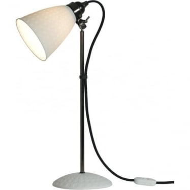 Hector 21 Table Light - White Textured
