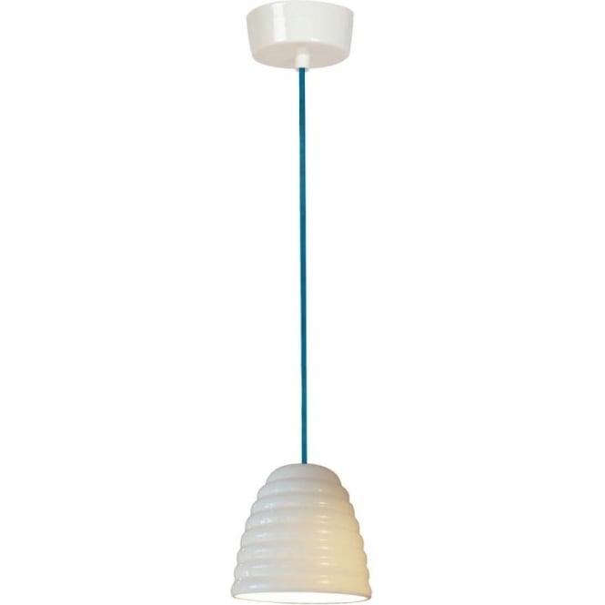 Original BTC Lighting Hector Bibendum Pendant Light - size 1 - Natural with a choice of cable colour