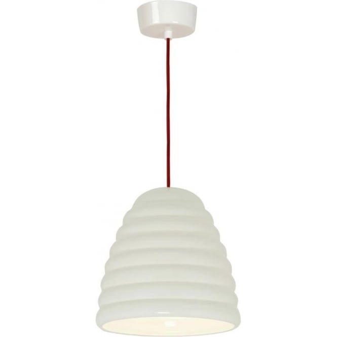 Original BTC Lighting Hector Bibendum Pendant Light - size 3 - Natural with a choice of cable colour