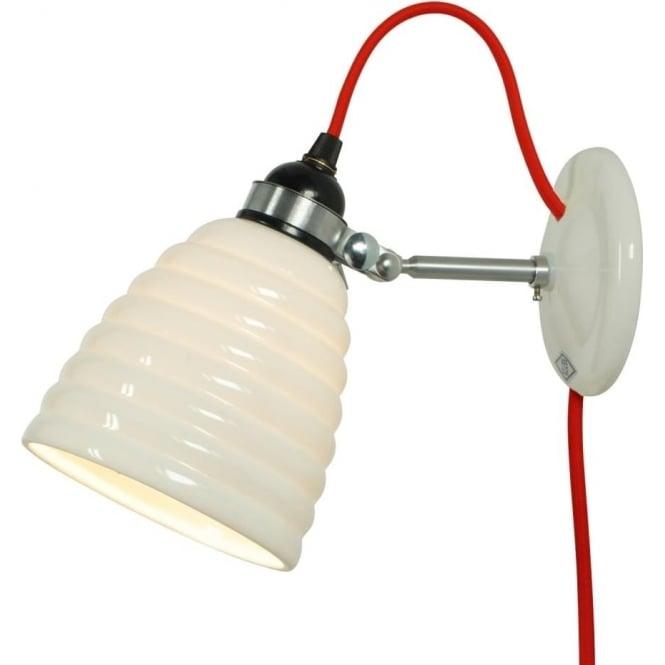 Original BTC Lighting HECTOR BIBENDUM WALL, Plug, Switch and Cable - colour options