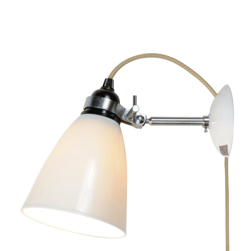 Original btc lighting original btc lighting hector medium dome wall hector medium dome wall light plug switch and cable colour options aloadofball Gallery