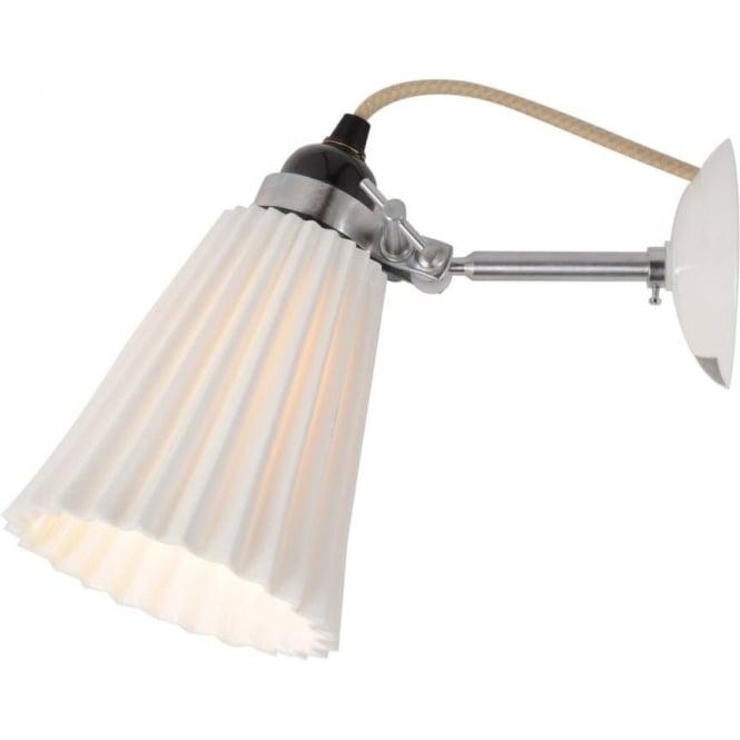 Original BTC Lighting HECTOR MEDIUM PLEAT WALL LIGHT - colour options