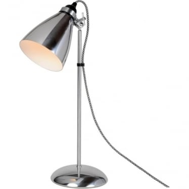 HECTOR METAL TABLE LIGHT - Polished Aluminium