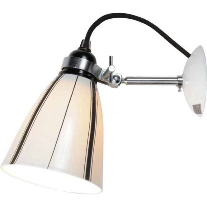 Original BTC Lighting LINEAR MEDIUM WALL LIGHT - Black and White Stripes