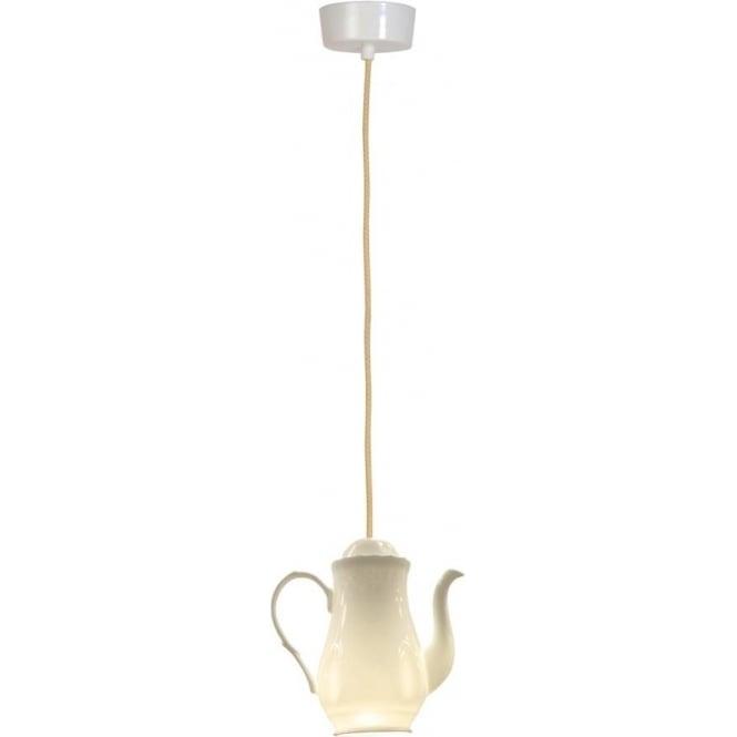 Original BTC Lighting Tea 1 pendant light - white