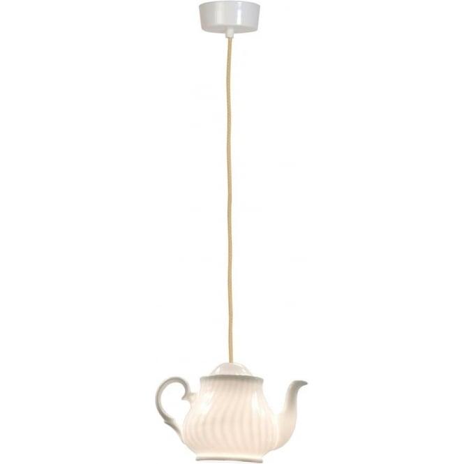 Original BTC Lighting Tea 2 pendant light - white