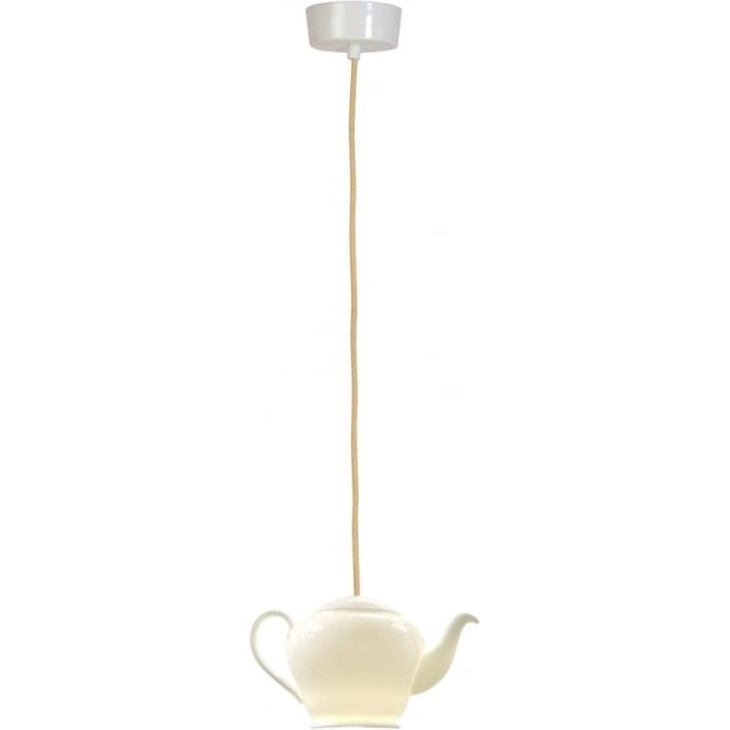 Original BTC Lighting Tea 3 pendant light - white