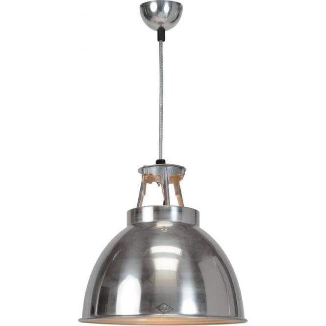 Original BTC Lighting Titan Pendant Light  - size 1- Natural Aluminium