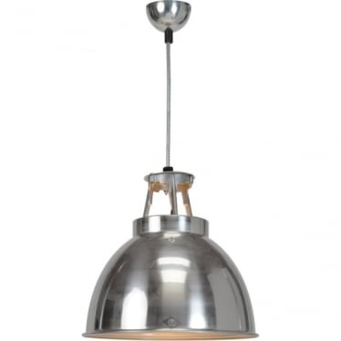 Titan Pendant Light  - size 1- Natural Aluminium