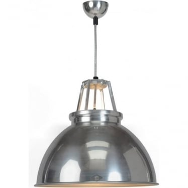 Titan Pendant Light  - size 3 - Natural Aluminium