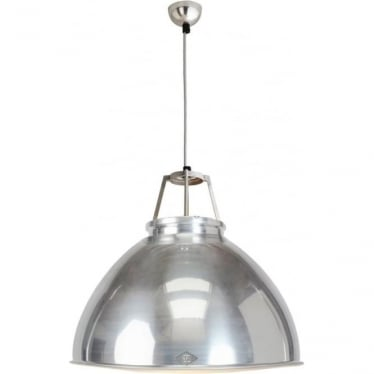 Titan Pendant Light  - size 5 - Natural Aluminium