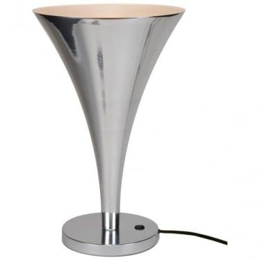 Trump table light - polished aluminium