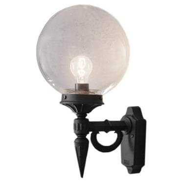 Orion wall light - black 496-750