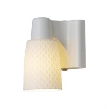 Oxford 1 bone china wall light - Natural
