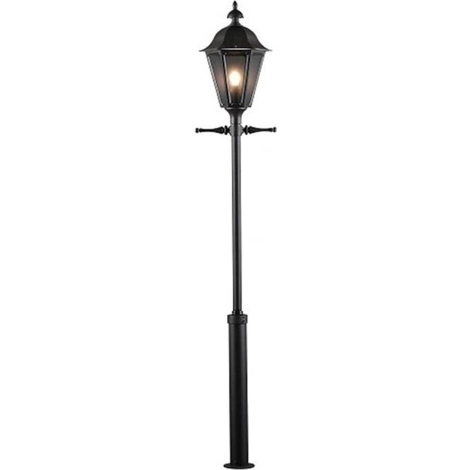 Konstsmide Garden Lighting Pallas inc Taurus pole - black 550-750