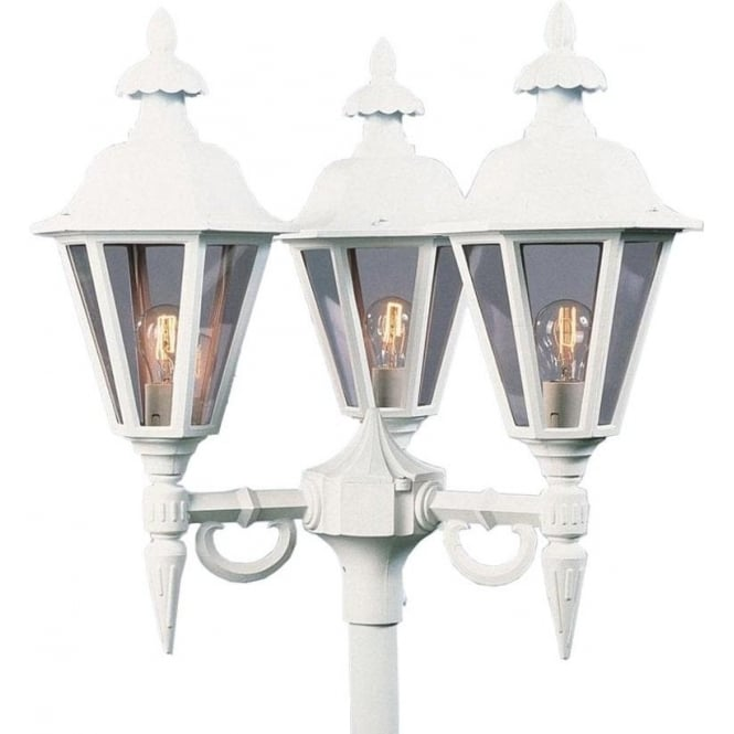 Konstsmide Garden Lighting Pallas triple head - white 528-250