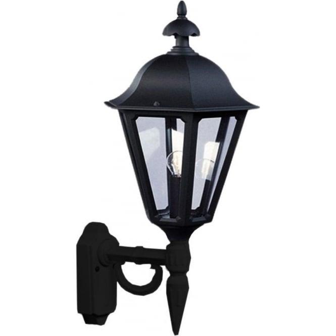 Konstsmide Garden Lighting Pallas wall up light - black 481-750