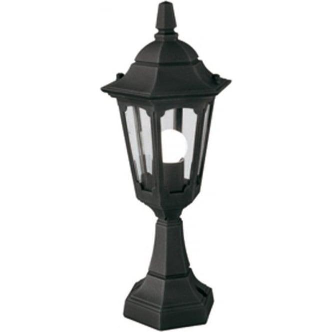 Elstead Lighting Parish Mini Pedestal Lantern - Black