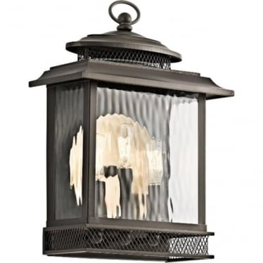 Pettiford Large Wall lantern - Olde Bronze