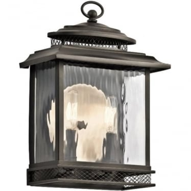 Pettiford Medium Wall lantern - Olde Bronze