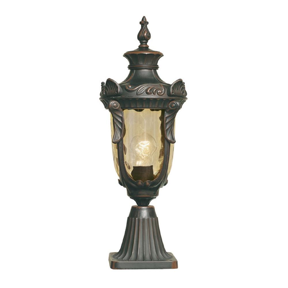 elstead lighting elstead lighting philadelphia pedestal lantern