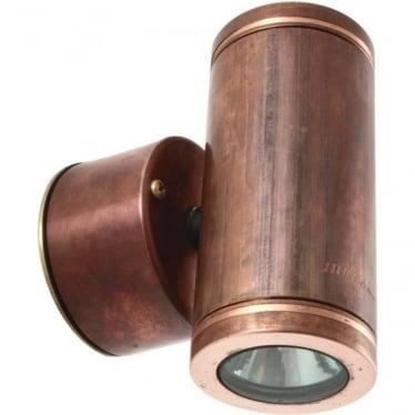 Pillar Light Retro - copper- MAINS