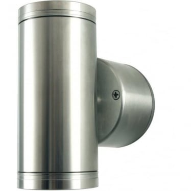 Pillar Light Retro - stainless steel- MAINS