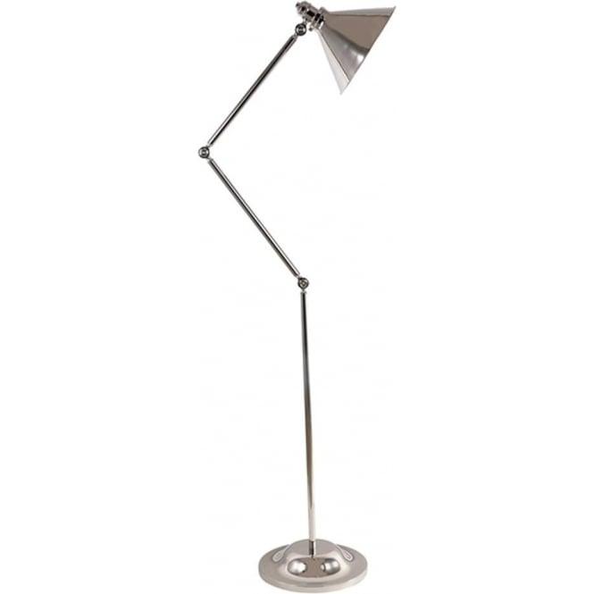 Elstead Lighting Provence Floor Lamp Polished Nickel
