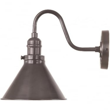 Provence Single Wall Light Old Bronze