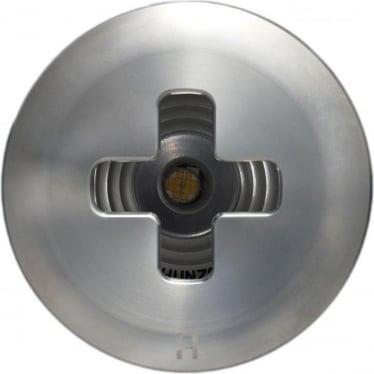 PURE LED Floor Light Dark Lighter Cross- stainless steel - Low Voltage