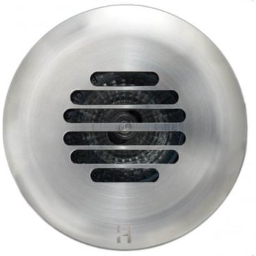 PURE LED Floor Light Dark Lighter Grill- stainless steel - Low Voltage