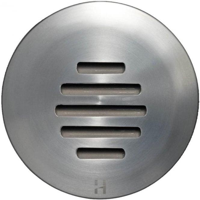 Hunza Outdoor Lighting PURE LED Floor Light Dark Lighter Louvre- stainless steel - Low Voltage