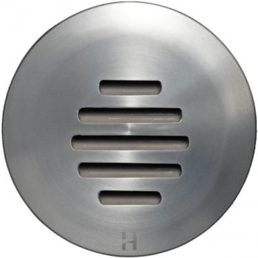 PURE LED Floor Light Dark Lighter Louvre- stainless steel - Low Voltage