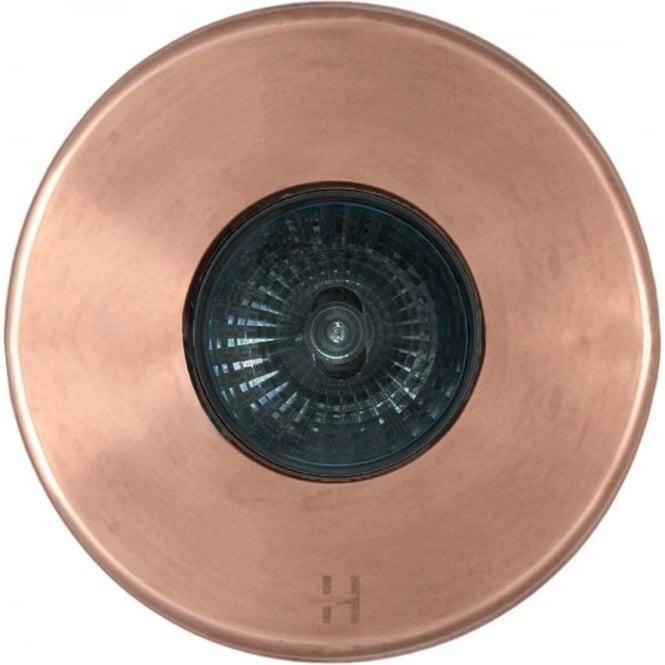 Hunza Outdoor Lighting PURE LED Floor Light Dark Lighter Spot - copper - Low Voltage