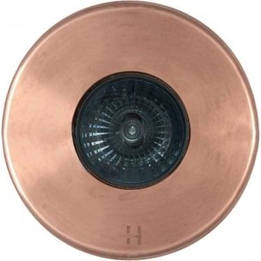 PURE LED Floor Light Dark Lighter Spot - copper - Low Voltage