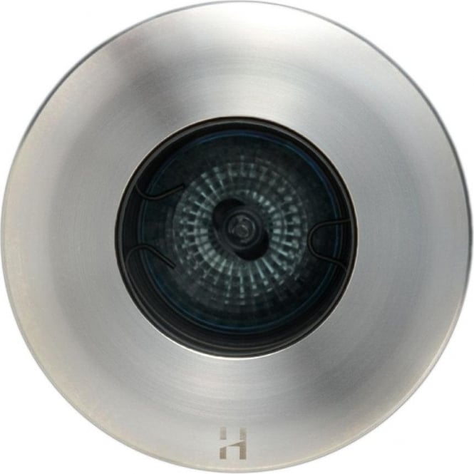 Hunza Outdoor Lighting PURE LED Floor Light Dark Lighter Spot- stainless steel - Low Voltage